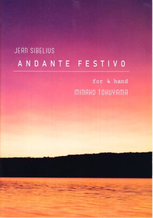 Andante Festivo Cover